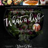 WhataDish Cafe – Dana Point Harbor Sunday May 28th  11 -2:30 pm