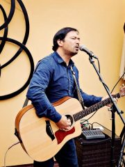 Clif Miller solo at The Post at Rockwell's Villa Park Weds June 6th 7-10 pm