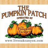 Live Oak Canyon Pumpkin Patch – Redlands Sunday October 29th 1-4 pm